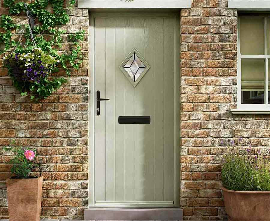 Country Composite Door